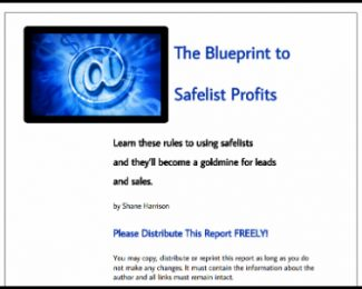 the blueprints to safelist profits pdf