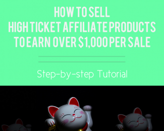 how to sell, luck, high ticket affiliate program