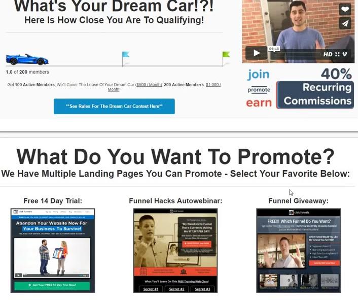 clickfunnels affiliate dashboard