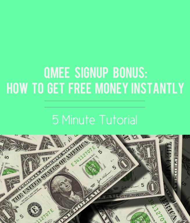 Free Money Sign Up Bonus