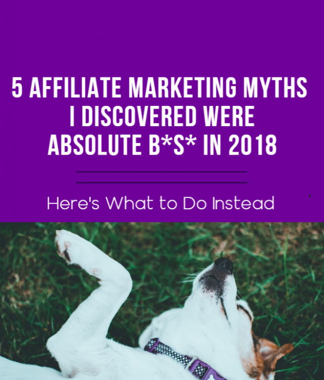 affiliate marketing myths blog post image, featured image