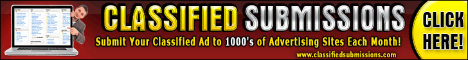 classified submissions, classified ad submission service
