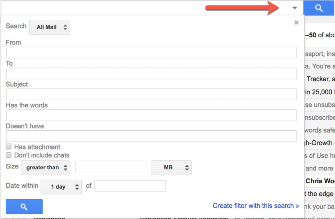 gmail filters, gmail settings, gmail