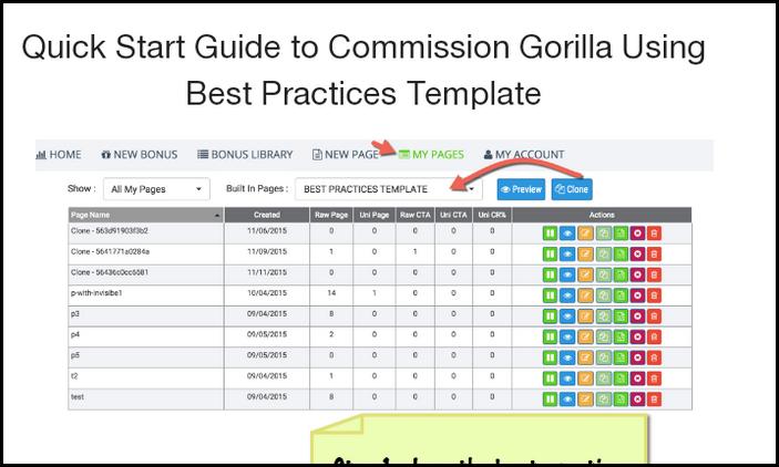 commission gorilla quick start guide