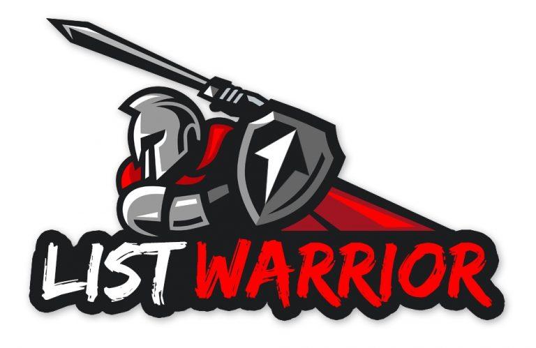 list warrior logo