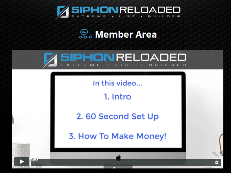 5iphon reloaded members area preview