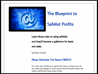 the blueprints to safelist profits pdf