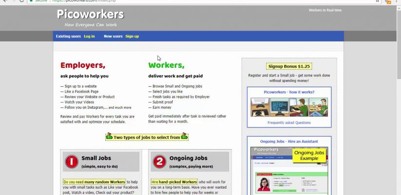 picoworkers, picoworkers review
