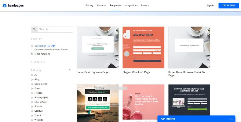 leadpages templates, leadpages