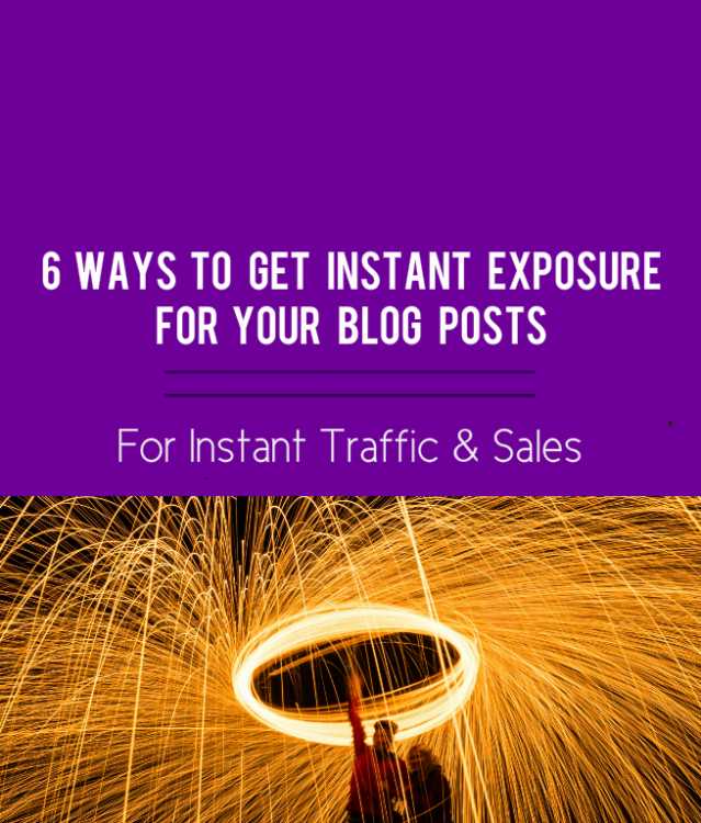 instant exposure blog post, featured image
