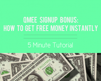 qmee bonus blog post, qmee signup bonus