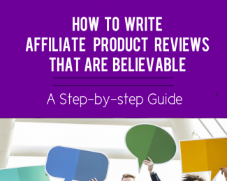 affiliate product reviews blog post image, cover image, featured image