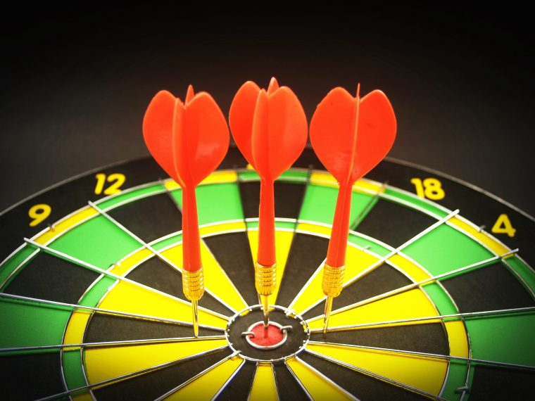 target audience, darts