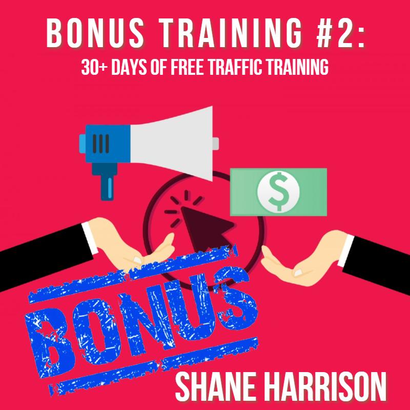 bonus 2 30 days traffic training