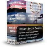 instant social quotes cover