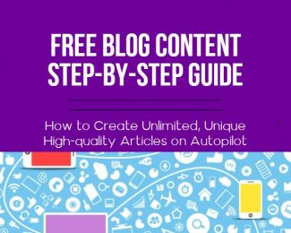 free content blog post